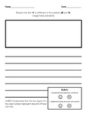 Place Value Writing Prompt