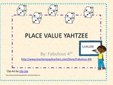 Place Value Yahtzee