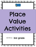 Place Value Activities for 3rd grade