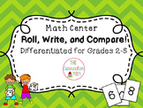 Place Value and Comparing Numbers Math Center (Differentiated!)