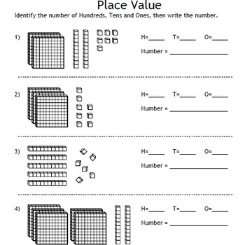place value and decimals fonts base 10 blocks houses decimal models. Black Bedroom Furniture Sets. Home Design Ideas