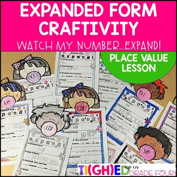 #merrymonday Place Value and Expanded Form Lesson Plan and