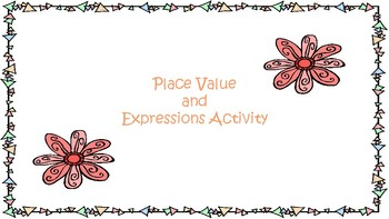 Place Value and Expressions