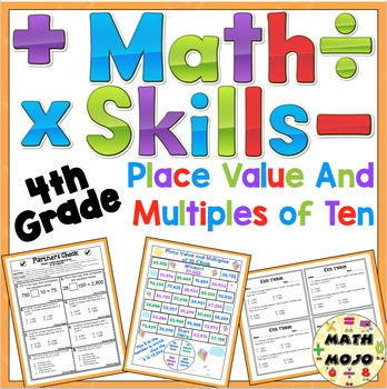 Place Value and Multiples of Ten (4.NBT.A.1)