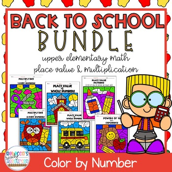 place value and multiplication worksheets 5th grade bts color by number bundle. Black Bedroom Furniture Sets. Home Design Ideas