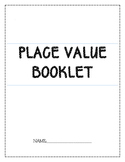 Place Value and Number Bonds booklet  + assessment