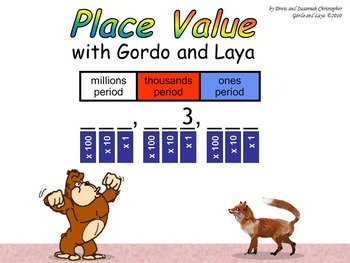 Place Value with Gordo and Laya