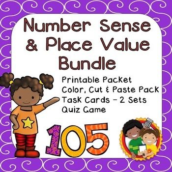 Place Value and Number Sense Bundle - 2nd Grade