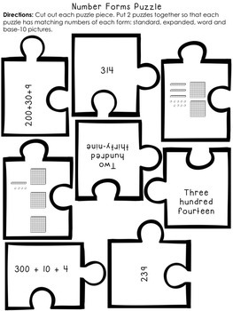 Place Value and Number Sense Bundle - 2nd Grade