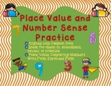 Place Value and Number Sense Review - Comparing Numbers+Number Forms+Place Value