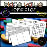 Place Value and Number Sense Templates