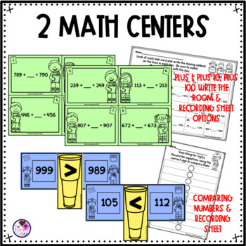 Place Value and Number Sense Worksheets & Activities for 2nd Grade Math Month 5