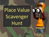 Place Value and Ordering Numbers Scavenger Hunt