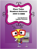 Place Value and Partitioning Numbers between 1000 - 9999