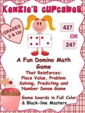 Place Value and Predicting Number Sense Math Game: Kenzie's Cupcakes
