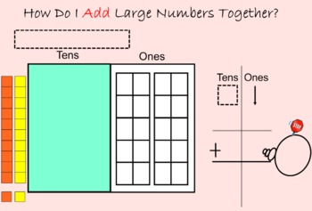 Place Value and Regrouping Slides for First and Second Grade