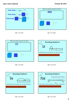 Place Value and Rounding 3.NBT.1