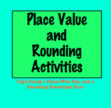 Place Value and Rounding Activities