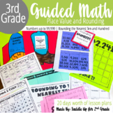 Place Value and Rounding Activities | 3rd Grade Guided Math