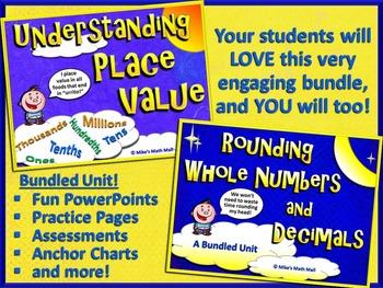 Place Value and Rounding (Bundled Unit)