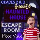 Place Value and Rounding Digital Escape Room Bundle Grades