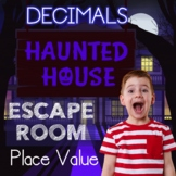 Place Value and Rounding Digital Escape Room Decimal Skill
