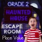 Place Value and Rounding Digital Escape Room Grade 2 Skill