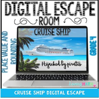 Place Value and Rounding Digital Escape Room Grade 4