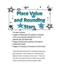 Place Value and Rounding Flaschards
