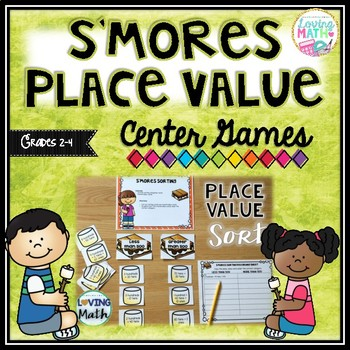 Place Value and Rounding Games and Center Activities