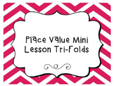 Place Value and Rounding Mini Lesson Tri-Folds