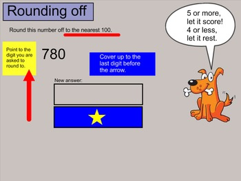 Place Value and Rounding Practice Grades 3-5