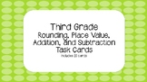 Place Value and Rounding Task Cards