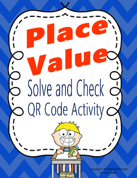 Place Value and Standard Number Form QR Code Activity