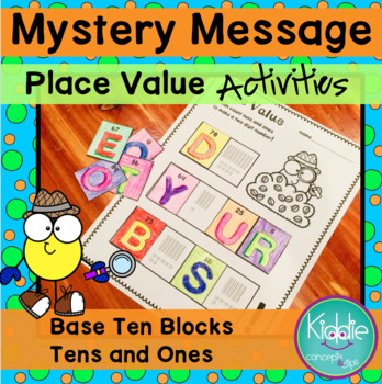 Place Value and Tens and Ones - Mystery Message