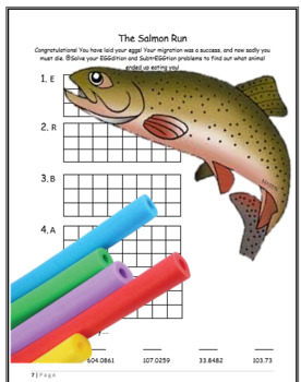 Place Value and the Salmon Run