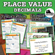 Place Value and value of a digit interactive notebook math foldable