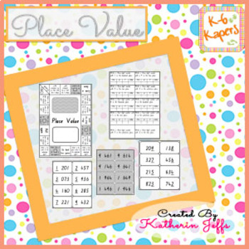 Place Value board games