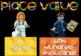 Place Value chart Lego Themed- Black background