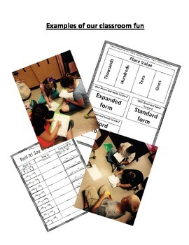 Place Value and Estimating- expanded form, word form, and standard form