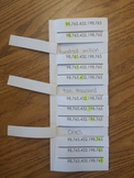 Place Value fold and peek