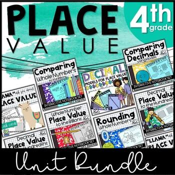 Place Value for 4th Grade BUNDLE