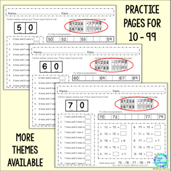 Place Value for Beginners: MONEY Theme...Ones, Tens and Hundreds to 199