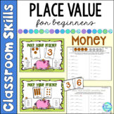 Place Value Lessons and Printable Worksheets with Money