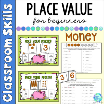 Place Value for Beginners: MONEY Theme...Ones, Tens and Hu