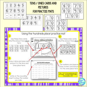 Place Value for Beginners SPIDER Theme Ones, Tens and Hundreds to 199