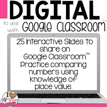 Google Classroom Compare Numbers