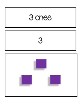 Place Value game English 1-30