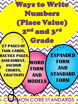 Place Value- Ways to Write Numbers