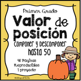 Place Value in Spanish 1st Grade